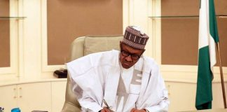 Nigeria president signs anti-piracy bill