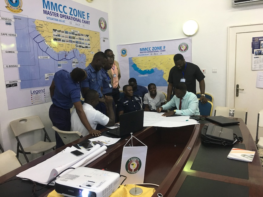 Ghana maritime agencies trained together in managing the